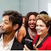 Dilma faz seu primeiro voo em avião comercial e sua popularidade aumenta, obrigado Temer