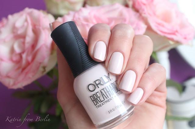 Лак для ногтей + укрепитель Orly Breathable