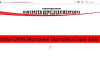Diperkirakan Pendaftar CPNS di Mentawai Capai 2000 Orang