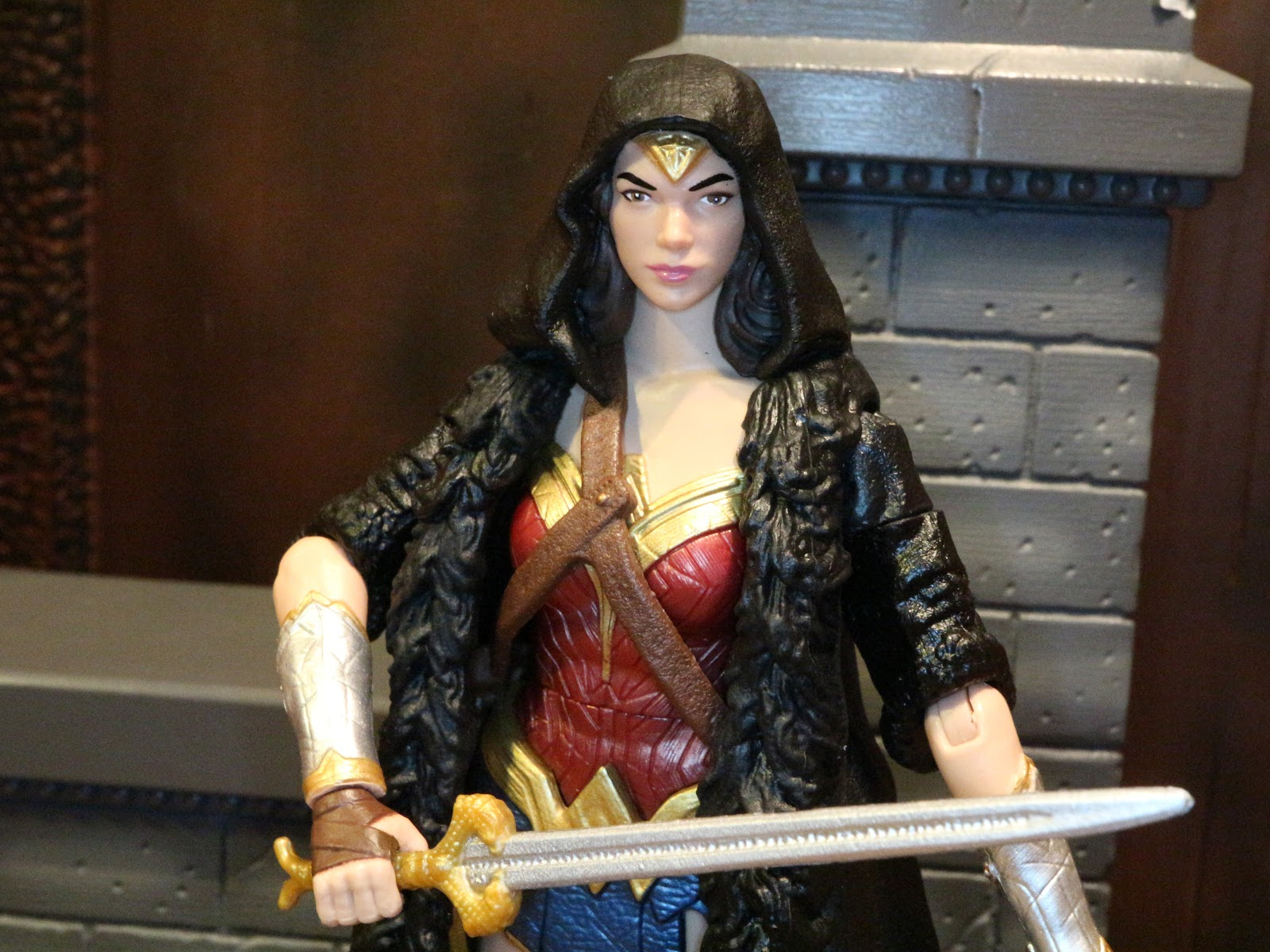 287581f0b40 Action Figure Review  Wonder Woman from DC Comics Multiverse  Wonder Woman  by Mattel