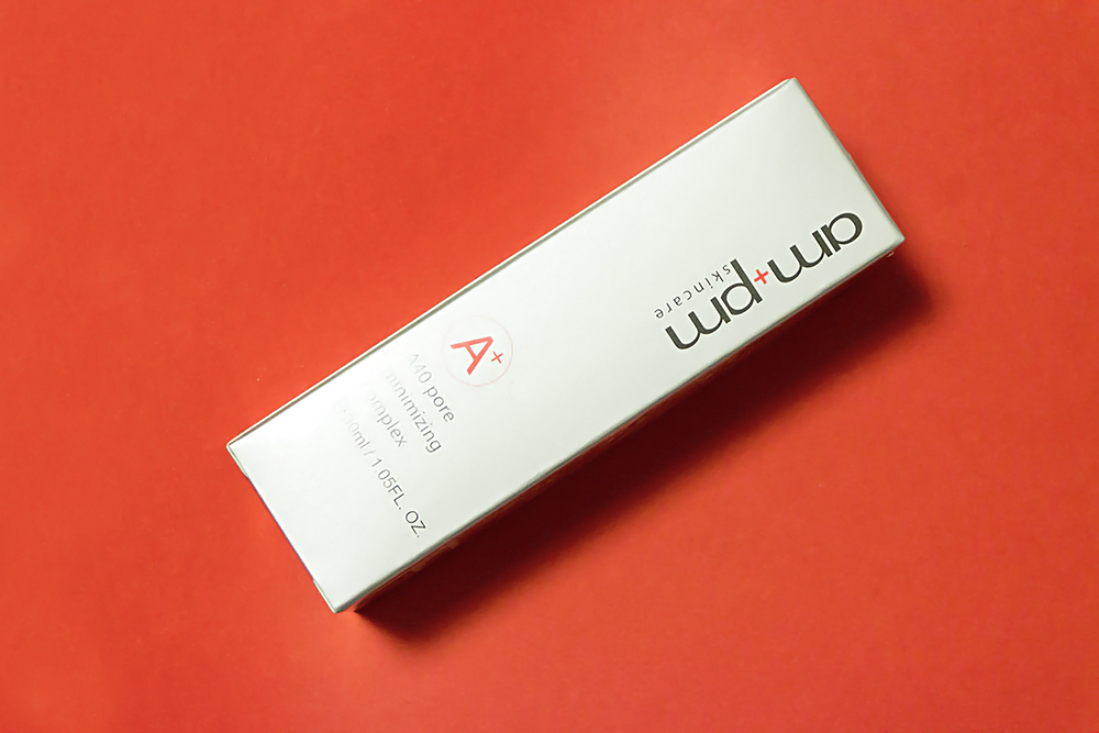 Naruko am+pm A40 Pore Minimizing Complex retinol review
