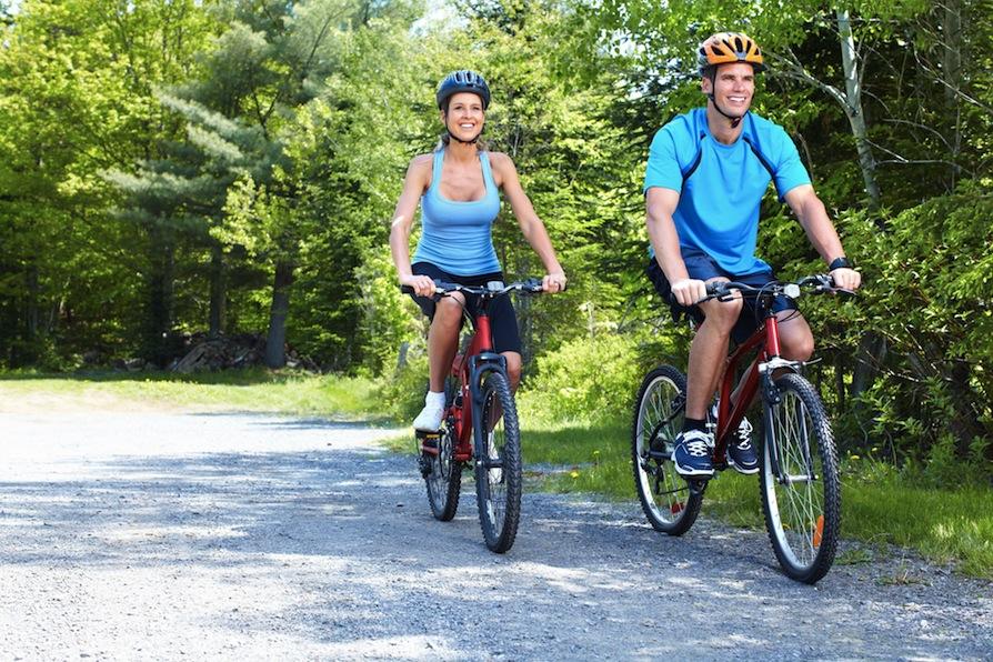 Cara Mengecilkan Paha dan Betis dengan bersepeda