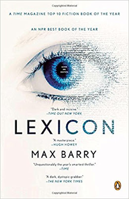 Lexicon by Max Barry (Book cover)