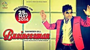 Businessman Song Lyrics - Davinder Gill