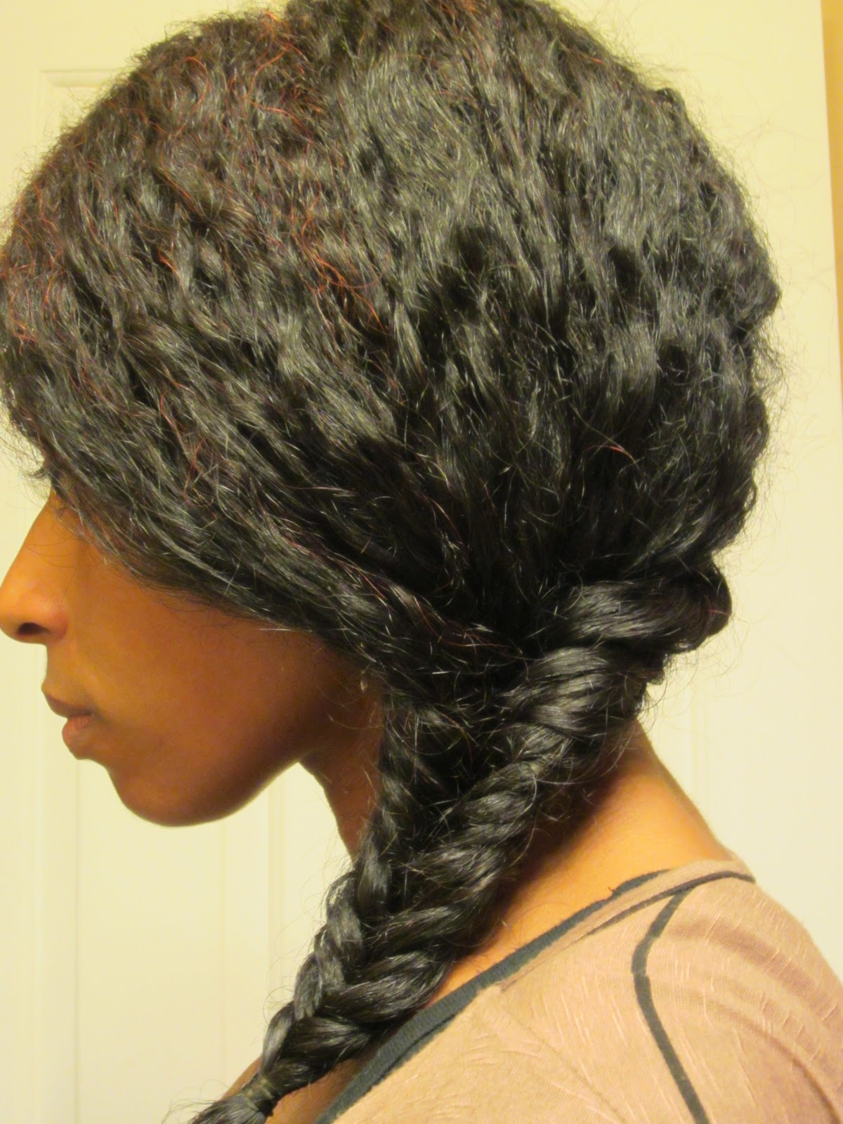 Naturally Beautiful Hair: Fish Tail Braid!