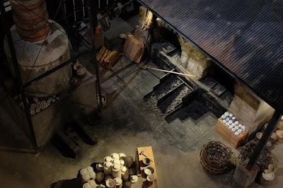 愛知県瀬戸市のやきもの博物館 瀬戸蔵ミュージアム 石炭窯、煙突