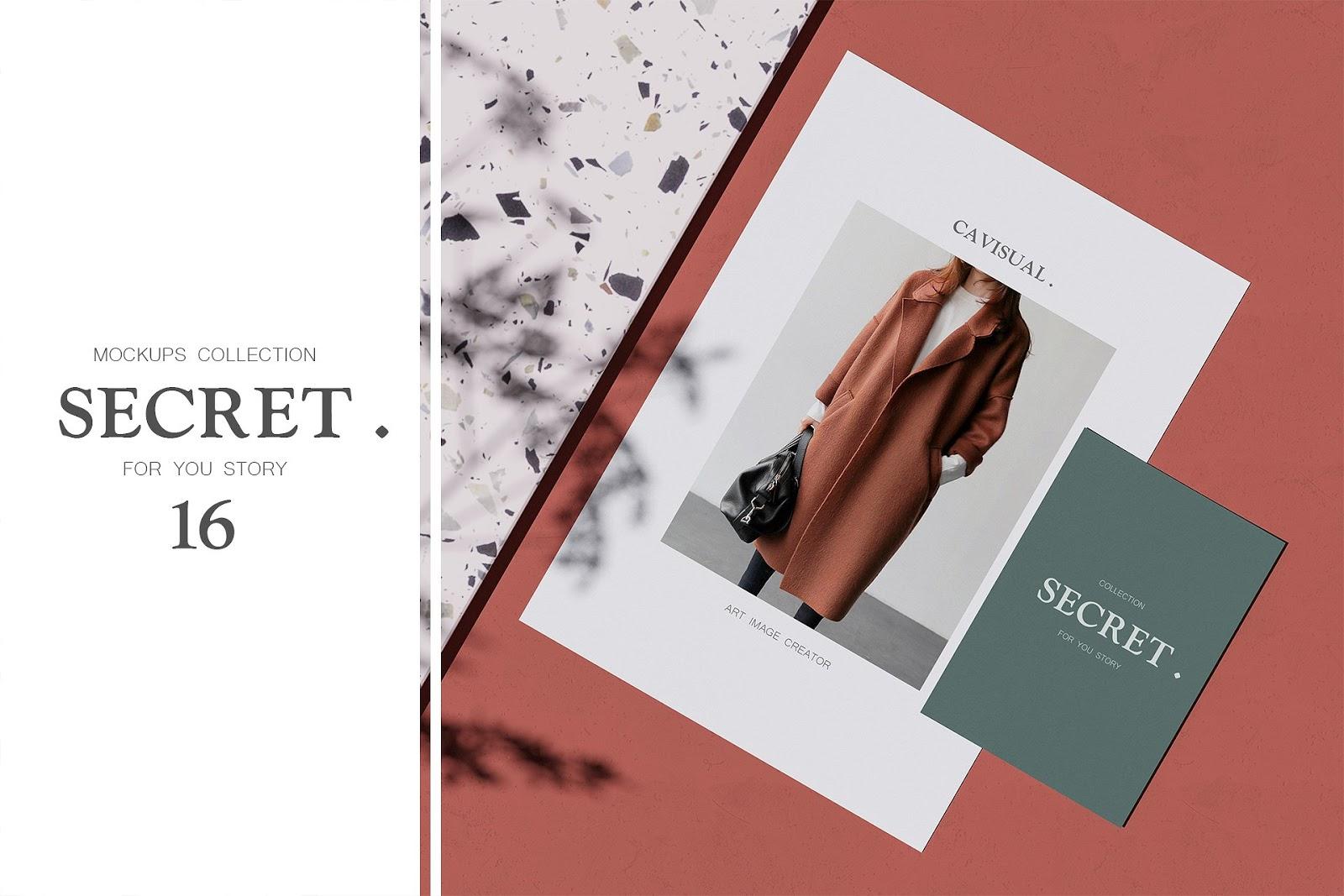 Secret Mockups Collection Bundle