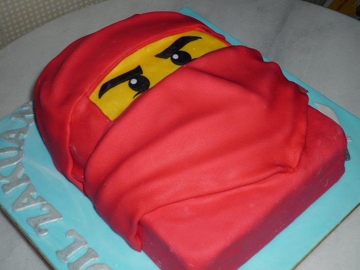 GG Home Biz Cakes & Wedding Cakes: Ninja Go Kai Birthday