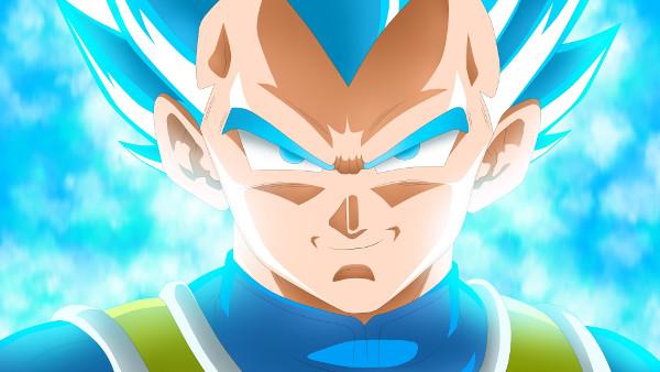 Super Saiyan Bleu Vegeta Dragon Ball Super - Fond d'Écran en Full HD