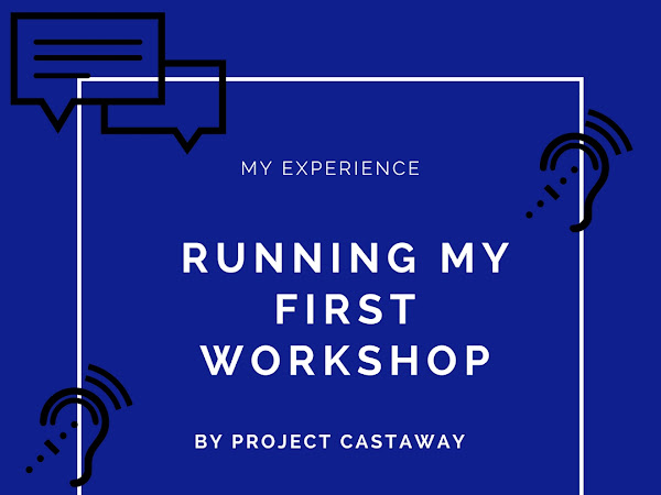 My experience | Running my first workshop