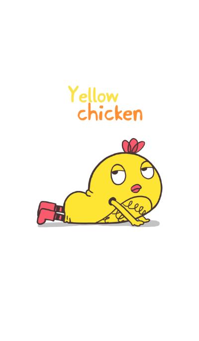 Yellow chicken.