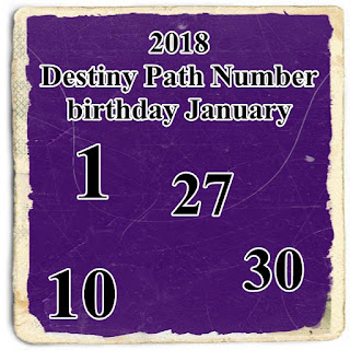 Path Number 1 Your life path information 2018 Destiny