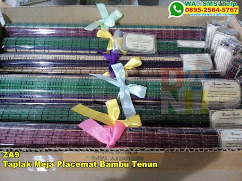 Grosir Taplak Meja Placemat Bambu Tenun