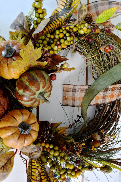 Fall, pumpkins, Wreaths