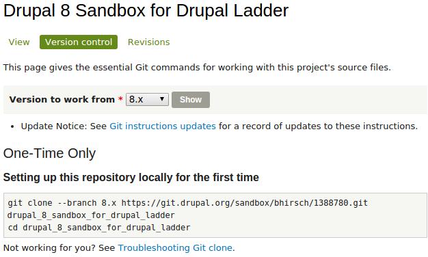 Drupal]Drupal 8 Sandbox