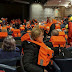 Το χάος στο εσωτερικό του κρουαζιερόπλοιου που εκκενώθηκε στη Νορβηγία