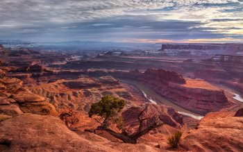 Wallpaper: Panoramic view - Dead Horse Point State Park