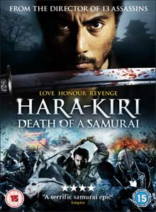 hara kiri UK dvd cover Download   Hara Kiri: Death of a Samurai   BRRip AVI + RMVB Legendado