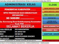 Administrasi Kelas, Aplikasi, Download, File Guru