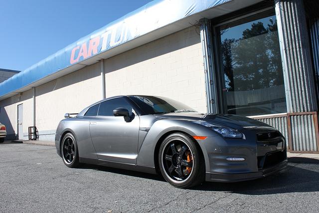 Car Tunes Atlanta: CarTunes Of Atlanta Shows Off A 2012 Nissan GT-R Black