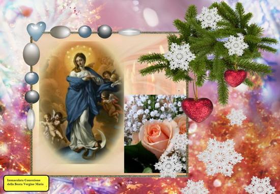 Novena in preparazione alla Festa dell'Immacolata Concezione di Maria SS., comincia il 29 Novembre