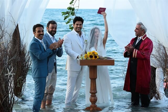 Nihan și Kemal la nunta