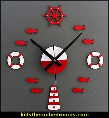 Mediterranean Style Wall Clock
