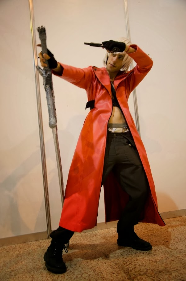 Cosplay de Dante (Devil May Cry) en Mangafest 2013