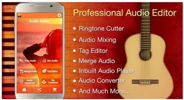 Aplikasi Edit Lagu Android Audio MP3 Cutter Mix Converter