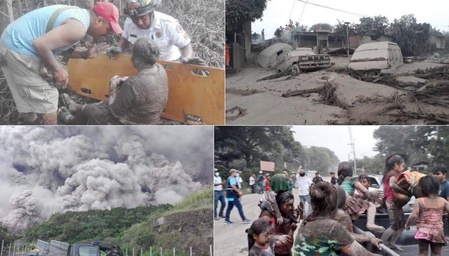 Eruzione Vulcano di Fuoco in Guatemala, ci sono morti | FOTO e VIDEO