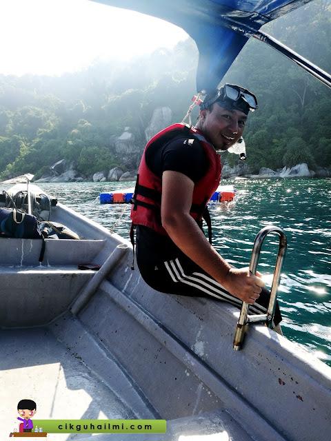 Pengalaman kali pertama snorkeling di Pulau Perhentian