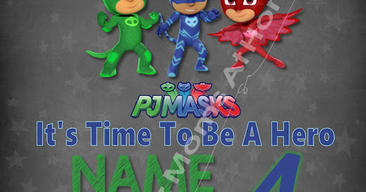 PJ Masks, It's Time To Be A Hero