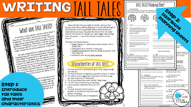 Steps to Introducing Tall Tales: What are Tall Tales?