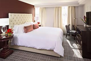 Graham Georgetown guest room, Washington, DC