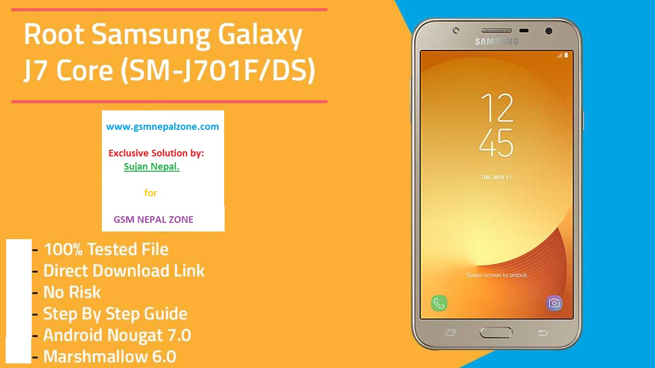 Samsung J7 Core (J701F/ DS) 7 0 Dark Screen [SOLVED] after Root