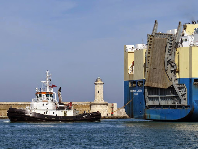 Piero Neri tug, IMO 9351713, port of Livorno