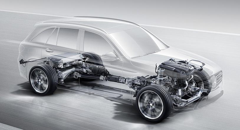 Hệ thống 4MATIC giúp xe thực dụng, mạnh mẽ và đa nhiệm