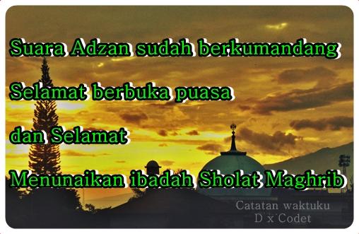Ucapan Kata Kata Selamat Berbuka Puasa Bulan Suci Ramadhan Kata