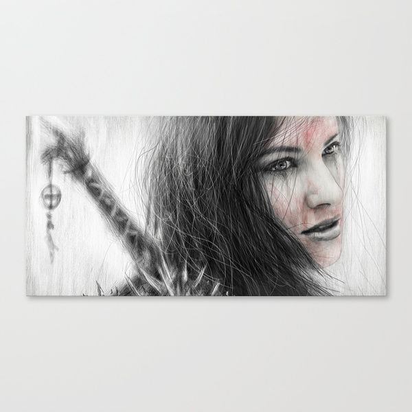 Stretched canvases from Society6 by Justin Gedak