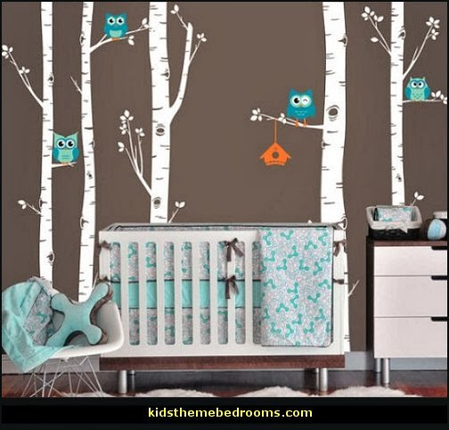 The Hallam Family Baby Room Ideas: Decorating Theme Bedrooms