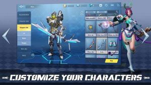 Survival Heroes Mod Apk RPG Battle Royale
