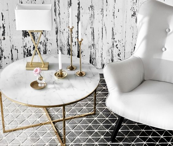 Design Must Have: The Gold Coffee Table