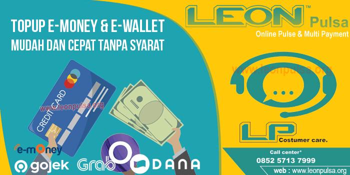 topup emoney ewallet uang elektronik