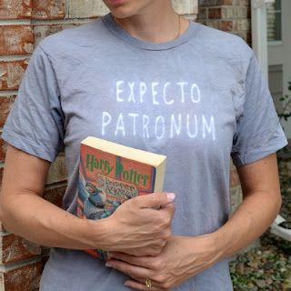 Harry Potter Spell Shirt by Over The Apple Tree