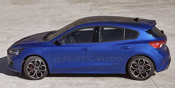 Burlappcar: 2019 Ford Focus