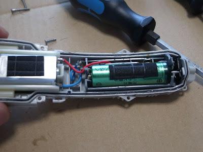 National ER5209-W 蓄電池の交換