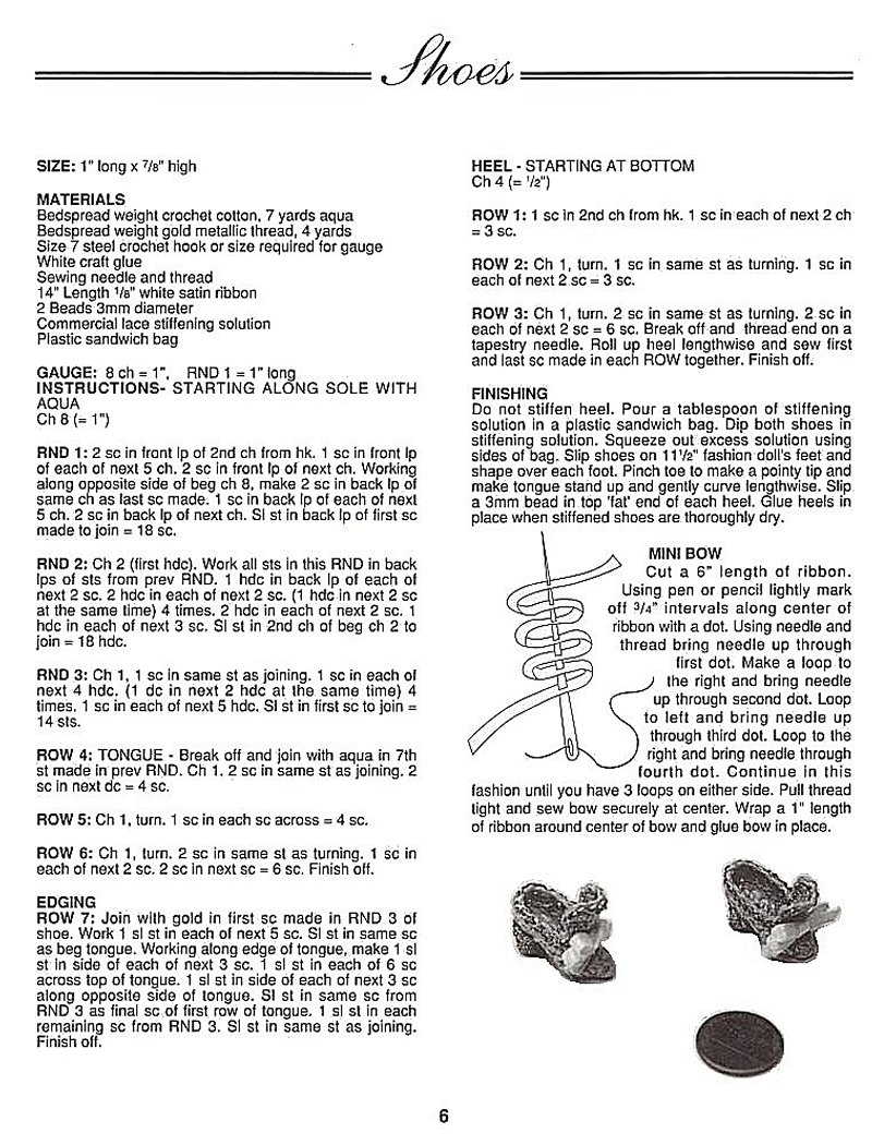 crochê para Barbie Vestido de época, crochet collector 2, que inclui sapatos, chapéu com plumas e roupa de baixo.