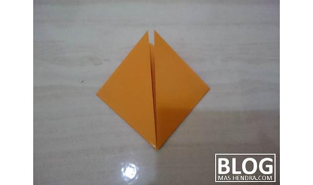 Cara Mudah Membuat Bunga Dari Kertas Origami - Blog Mas Hendra