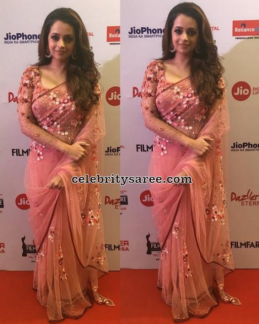Bhavana at 65th Jio Filmfare Awards