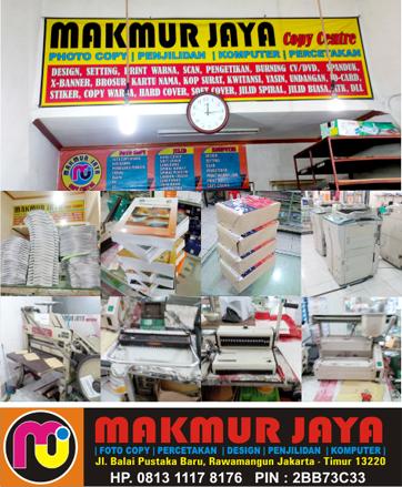 Makmur Jaya Fotocopy dan Percetakan